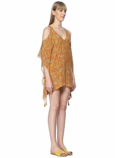 Lazul Plaj Elbisesi Sarı